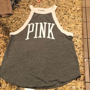 Pink muscle tank top size Small